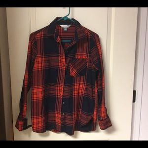 Old Navy Classic Fit Flannel Shirt LNWOT